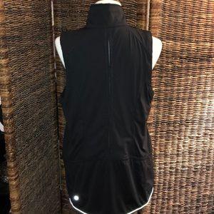 Lululemon Black reflective vest Size 12